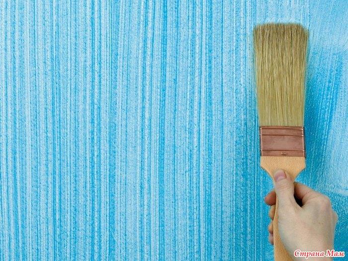 Оригинальная покраска стен своими руками - NikeCRM