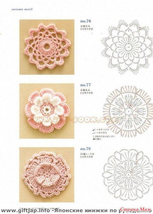 Объёмные поделки из бумагВязание орнамента цветы спицами