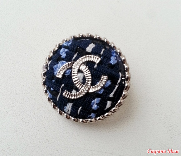 Купить пуговицы Chanel в интернет магазине 2 по