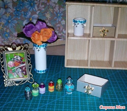 Как сделать миниатюру для кукол своими руками