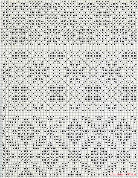 Схемы вязание норвежские узоры спицами бесплатные схемы
