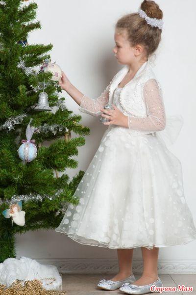Фото платья детского новогоднего