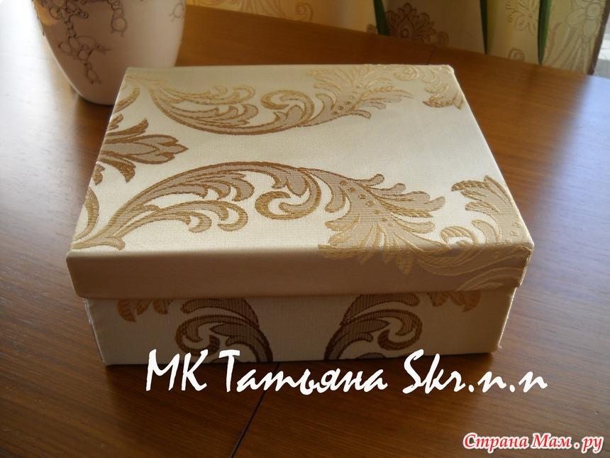 Декор обувных коробок своими руками