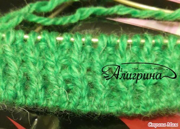 Вязание резинки бабушкиным способом 57