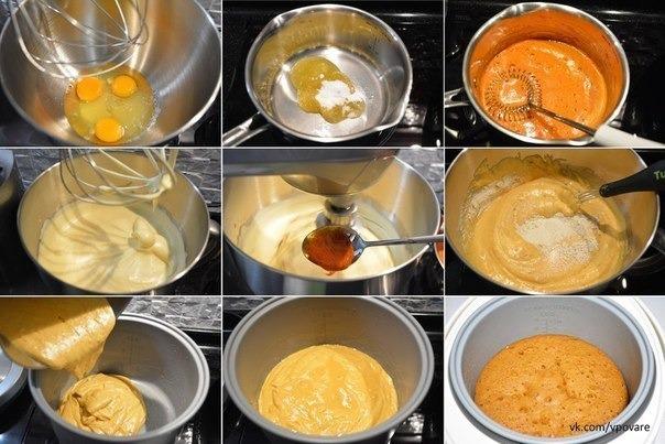 Крем для бисквита рецепт пошаговый