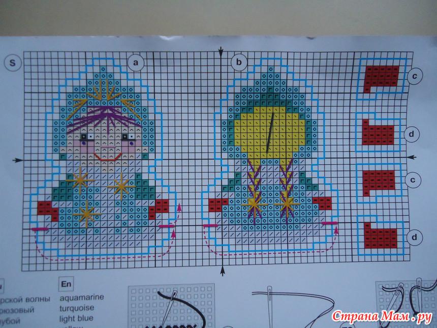 Схемы для вышивки на пластиковой канве 23