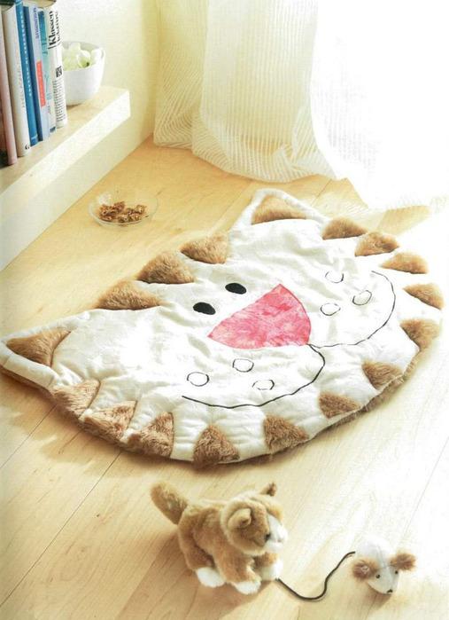Уютные коврики для дома своими руками