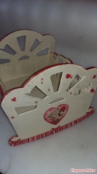 Кроватка для кукол из картона своими руками мастер класс 156