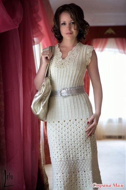 . Красивое платье! Может кто возьмется за онлайн?)
