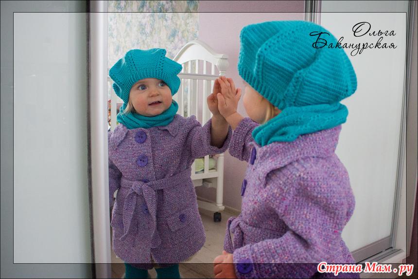 Страна мам вязание детские пальто