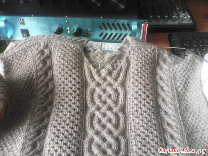 Осинка вязание аранов 15