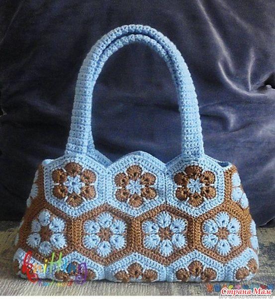 Вязание сумок из мотивов 272