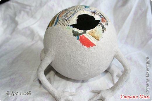 Как сделать шар из туалетной бумаги