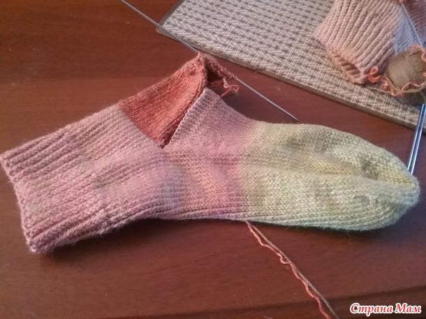 Туфелька-схема вышивки крестом