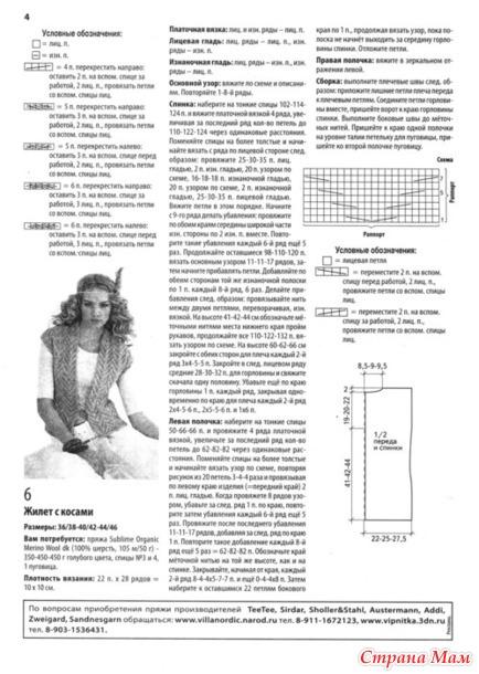 Креативное вязание спицами модели схемы бесплатно
