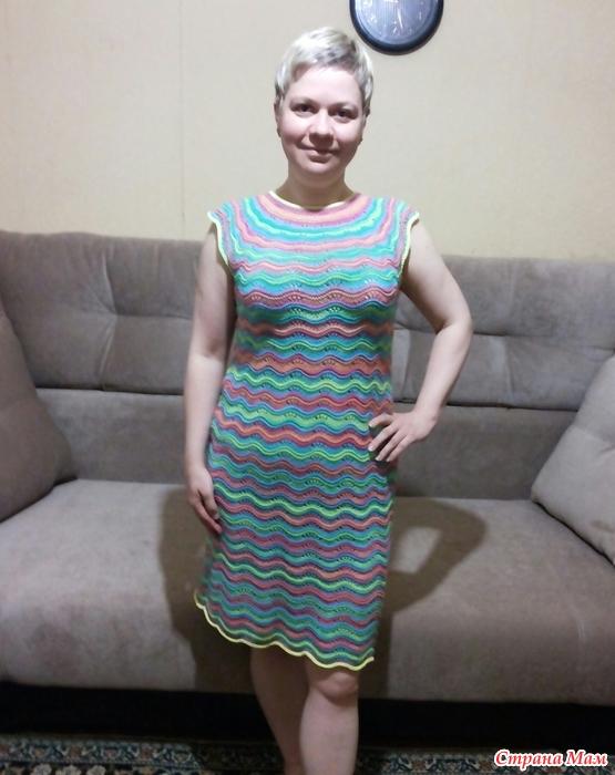 Летние платья из миссони