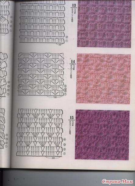 Стиль норвежский crochet