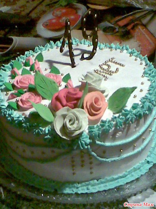 Торт с днём рождения 19 лет девушке