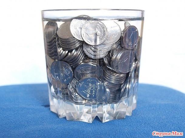 Делаем денежную воду