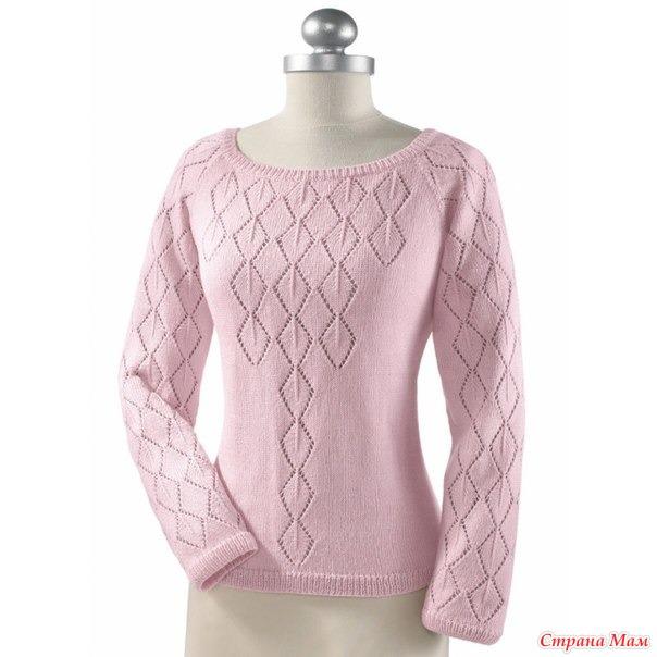 针织:清新典雅套衫 - maomao - 我随心动