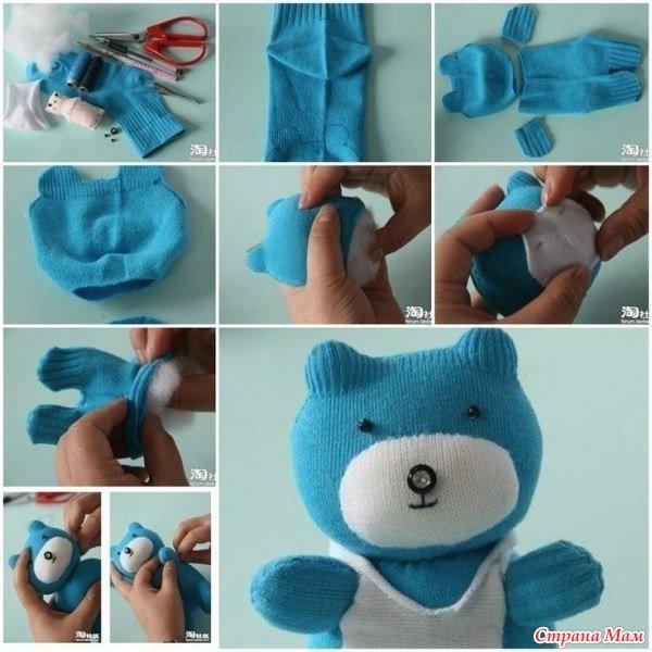 Как сделать своими руками игрушки легко