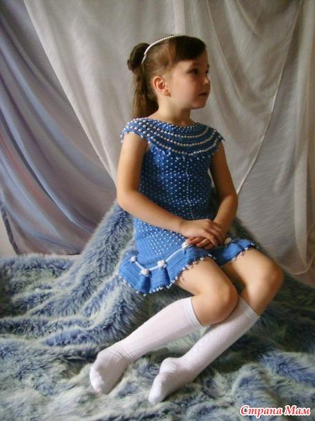 Платье для маленькой принцессы а-ля эпоха Возрождения