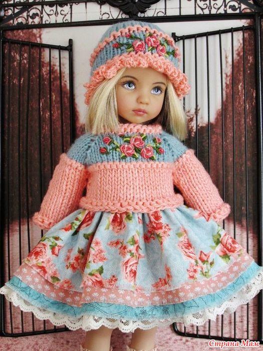 Идеи вязания на кукол