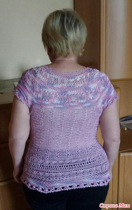 Вязание из пряжи тулип