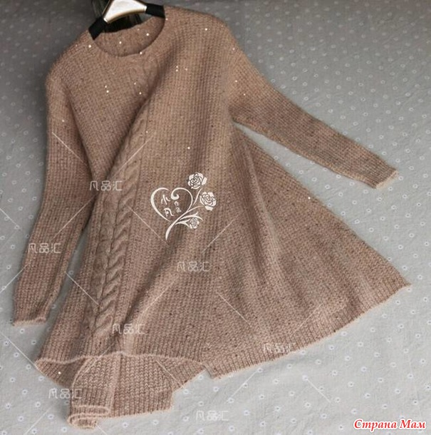 Платье(туника или пуловер) из интернета
