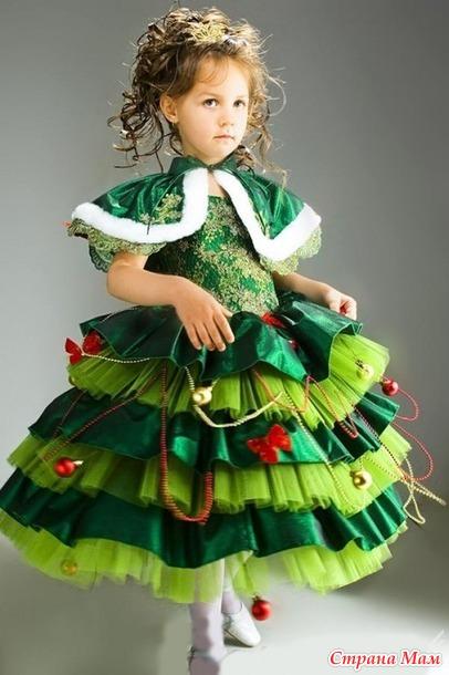 Карнавальные костюмы для девочек своим руками