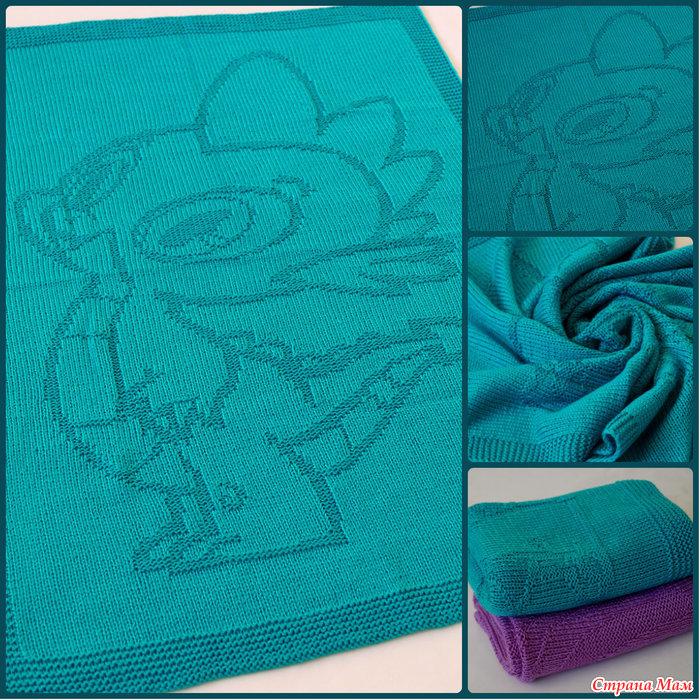 婴儿针织毛毯 - maomao - 我随心动