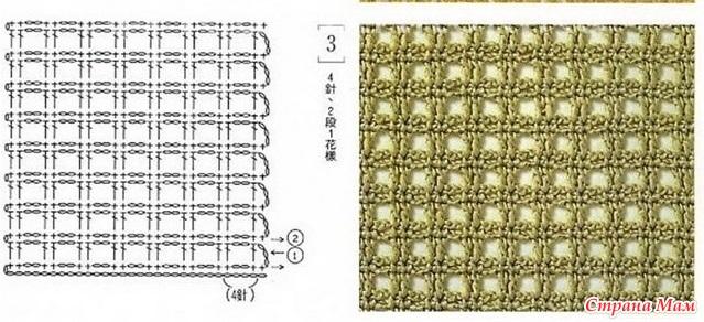 Самый простой узор для вязания крючком