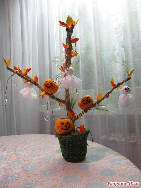 """Поделка на """"Хэллоуин"""""""