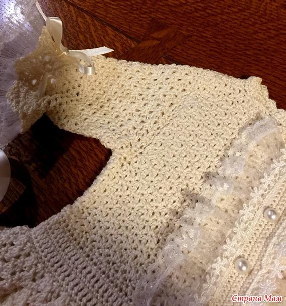 Платье для девочки (крючок)