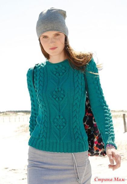 Очаровательный пуловер