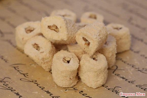 Как сделать лукум с орехами