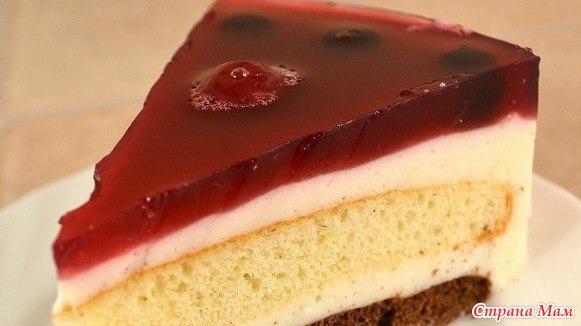 Фото рецепти тортов с желе