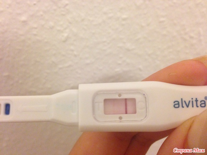 До задержки тест беременность не показывал