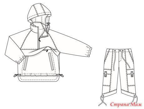 Куртка анорак своими руками 1