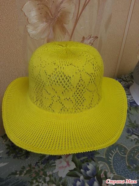 . Летняя шляпка для дачи