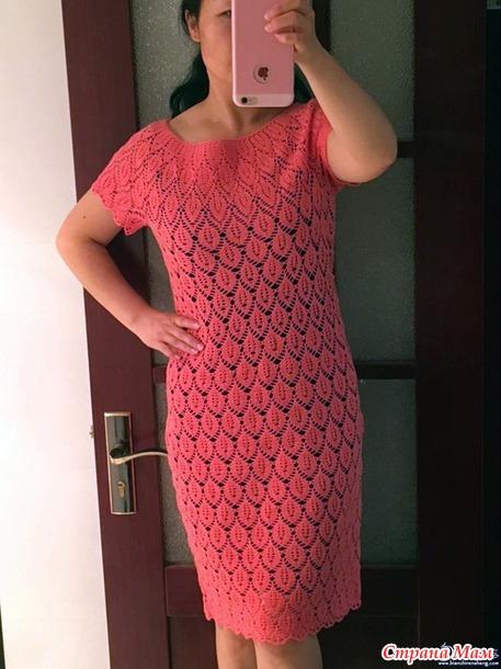 . Перо павлина. Ажурное платье с круглой кокеткой.