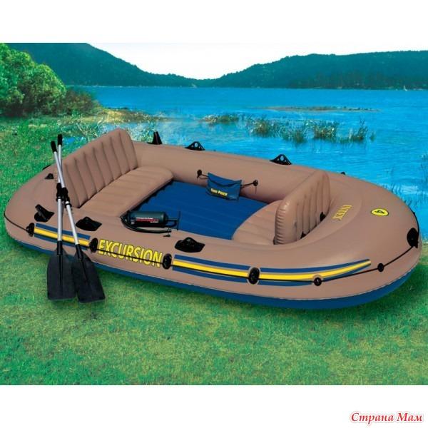 надувные лодки intex омск