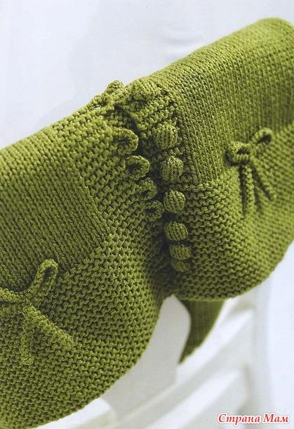 Зелёная жилетка