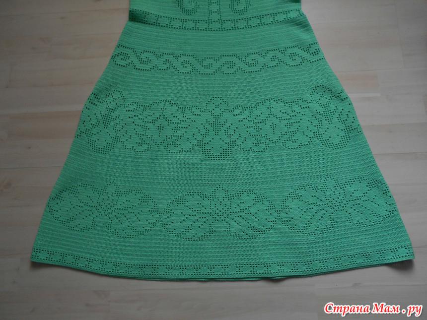 钩针漂亮的网格连衣裙 - maomao - 我随心动