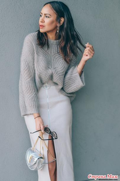 Опять красоту нашла, мягкий пухляш, свитерок оверсайз ложной косой английской резинкой, для вдохновения