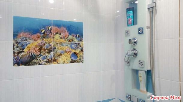 Наша новая ванная комната