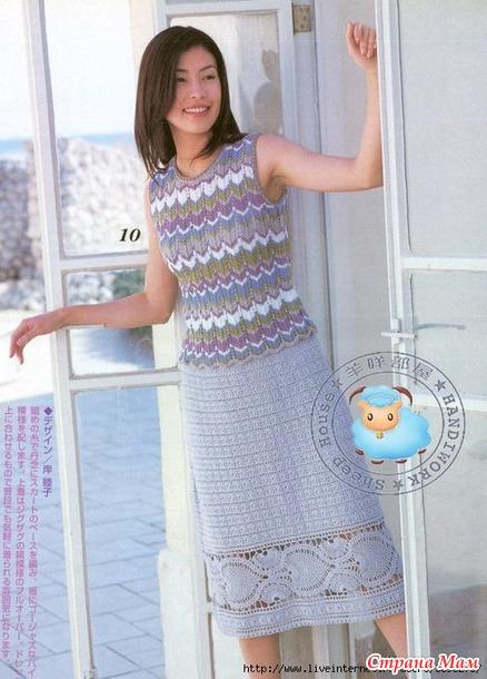 . Очень красивая юбка!
