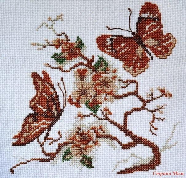 Значение вышивки бабочки