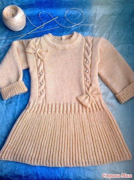 платье для малышки 1-1,5 лет. Добавила описание