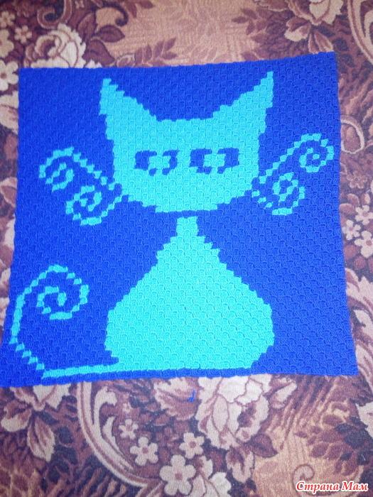 """续:钩针教程:所有""""温暖的覆盖小毯子""""的编织方法 - maomao - 我随心动"""